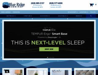 blueridgebedding.com screenshot