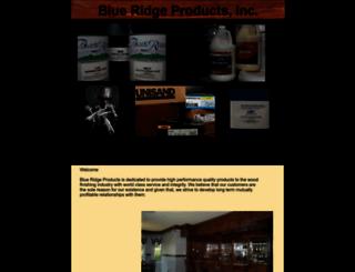 blueridgeproducts.com screenshot