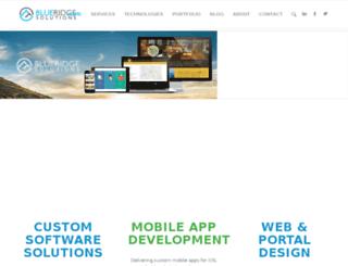 blueridges.com screenshot