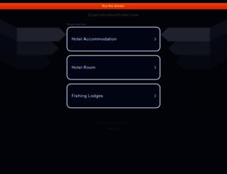 blueriverresorthotel.com screenshot