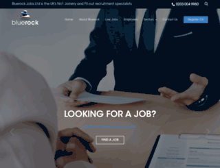 bluerockjobs.co.uk screenshot