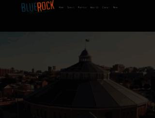 bluerockproductions.com screenshot