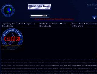 blueshalloffame.com screenshot