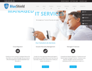blueshield.com.au screenshot