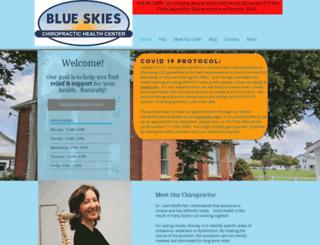 blueskieschirohealth.com screenshot