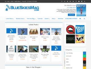 blueskiesmag.com screenshot
