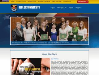 bluesky-u.com screenshot