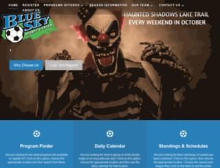 blueskysportscenter.com screenshot