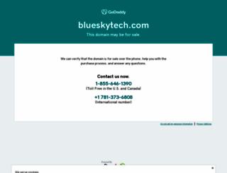 blueskytech.com screenshot