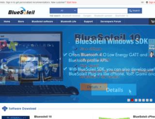 bluesoleil.biz screenshot