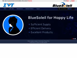 bluesoleil.com screenshot