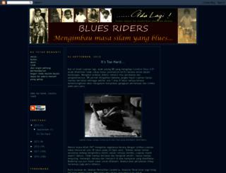 bluesriders.blogspot.com screenshot