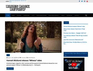 bluesrockreview.com screenshot