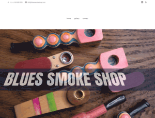 bluessmokeshop.com screenshot