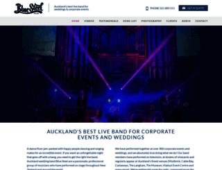 bluesteelband.co.nz screenshot