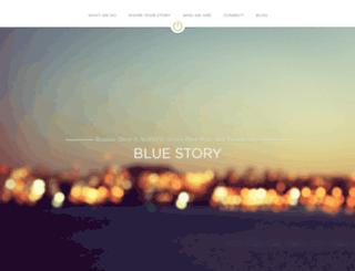 bluestory.strikingly.com screenshot