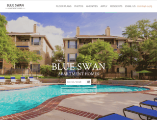 blueswan-apts.com screenshot