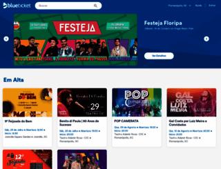 blueticket.com.br screenshot