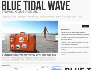 bluetidalwave.com screenshot