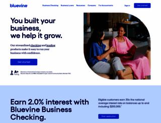 bluevine.com screenshot