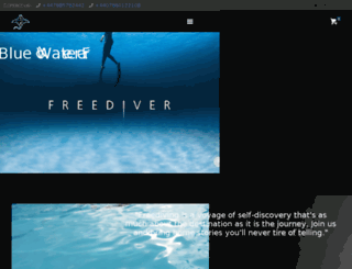 bluewater-freediving.co.uk screenshot
