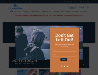 bluewatersmarine.com screenshot