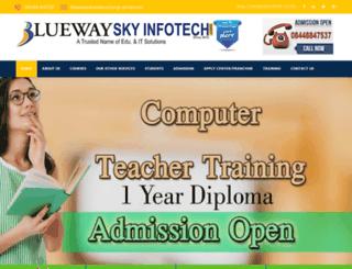 bluewaysky.com screenshot