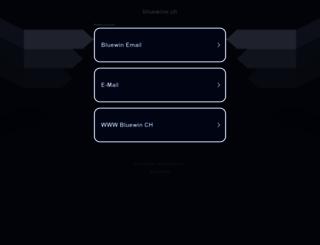 bluewine.ch screenshot