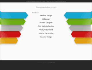 bluewirewebdesign.com screenshot