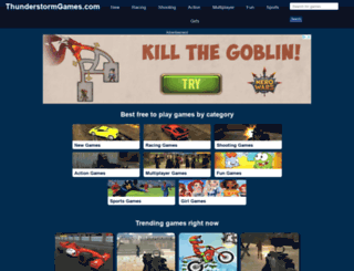 bluewolfgames.com screenshot