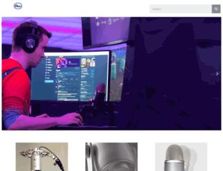 blueyetimicrophone.com screenshot
