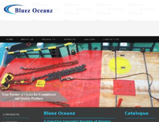 bluezoceanz.sg screenshot