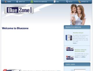 bluezone.ie screenshot