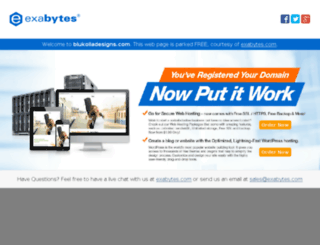 blukolladesigns.com screenshot