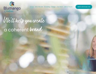 blumangocreative.com screenshot