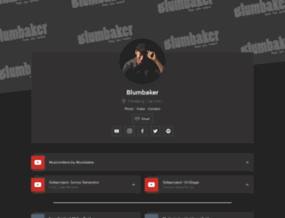 blumbaker.de screenshot