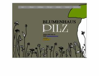 blumenhaus-pilz-templin.de screenshot