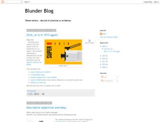 blunder.blogspot.com screenshot