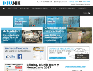 blunikracing.com screenshot