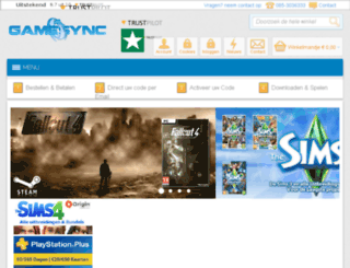 bluraysync.nl screenshot
