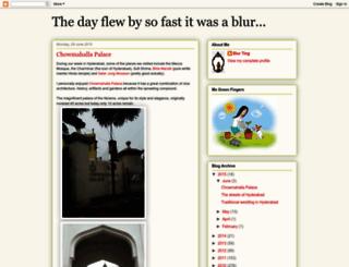 blurting.blogspot.com screenshot