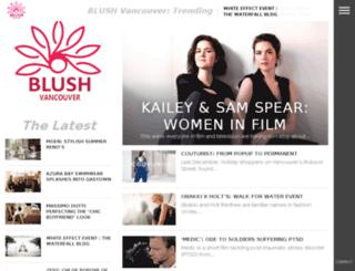 blush-urbanlifestyle.com screenshot