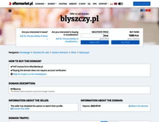blyszczy.pl screenshot