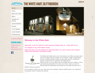 blythburgh-whitehart.co.uk screenshot