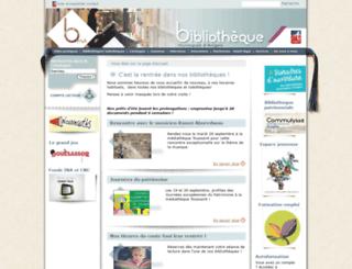 bm.angers.fr screenshot