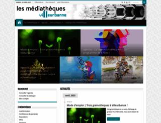 bm.villeurbanne.fr screenshot