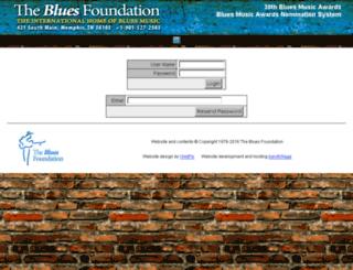 bmanc.blues.org screenshot