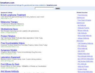 bmarkers.com screenshot