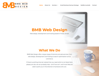 bmbwebdesign.com screenshot
