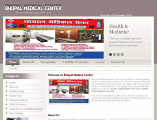 bmcbhopal.org screenshot